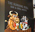 New artwork for The Running Bull.