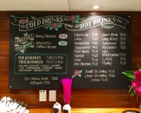 Ballantynes tearooms Drinks Menu