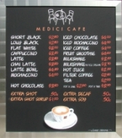 Medici Cafe Coffee Menu